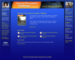 hazard-perception-challenge